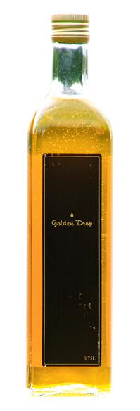 Olej rzepakowo-lniany o aromacie masła Golden Drop (750 ml)