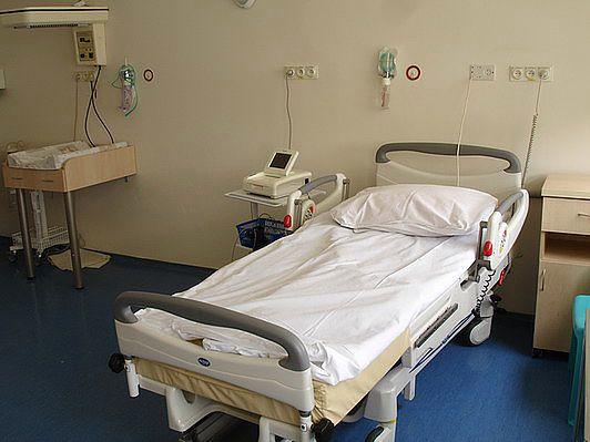 Sala porodowa imbirowa w Szpitalu na Solcu w Warszawie