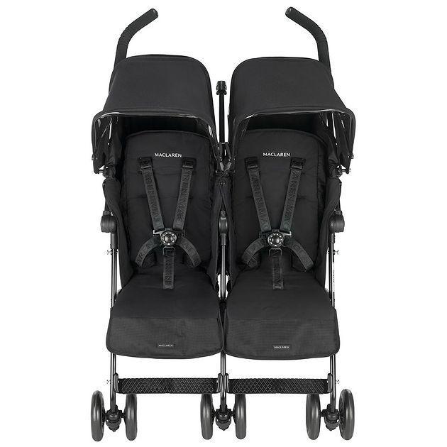 Wózek Maclaren Twin Techno Black
