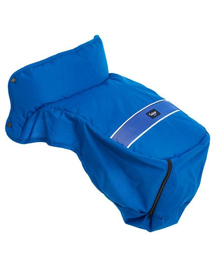 Ocieplacz na nóżki Emaljunga Exclusive PP Blue