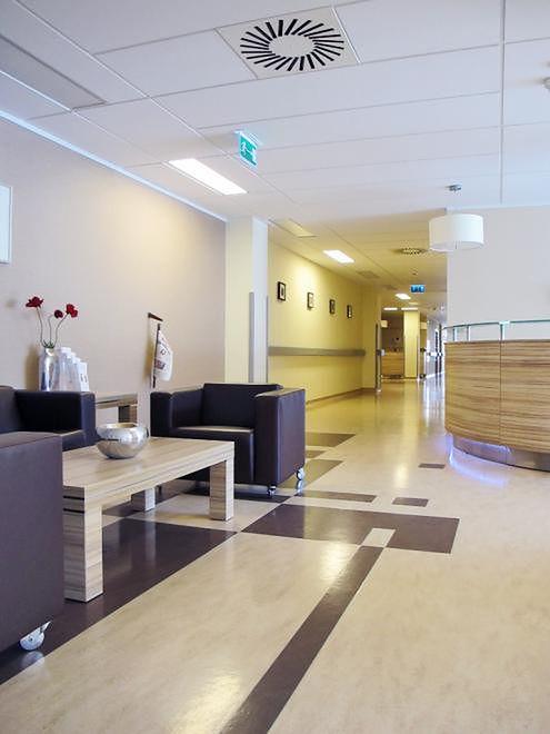 Recepcja w Szpitalu Medicover w Warszawie