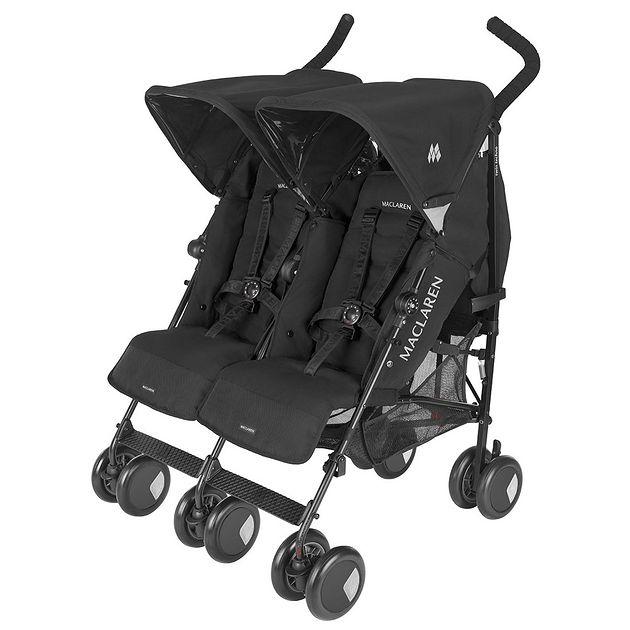 Wózek bliźniaczy Maclaren Twin Techno Black
