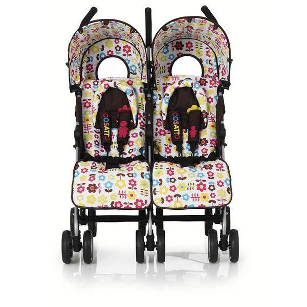 Wózek bliźniaczy Cosatto You2 Twin Big Sis-Little Sis