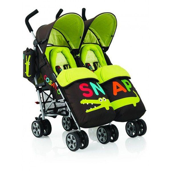 Wózek dziecięcy Cosatto You2 Twin Snap