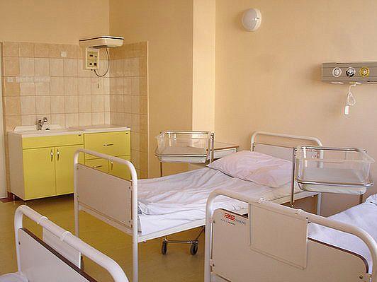 Sala pobytowa po porodzie w Szpitalu na Solcu
