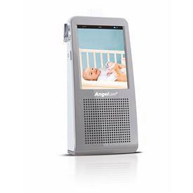 Monitor Oddechu z Nianią Elektroniczną i Kamerą Video Angelcare AC1100 wyświetlacz