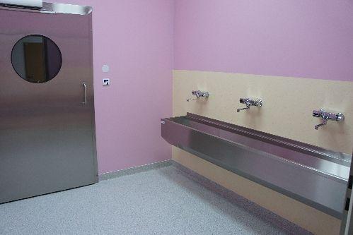 Myjnia na bloku operacyjnym w Niepublicznym Zakładzie Opieki Zdrowotnej Malarkiewicz