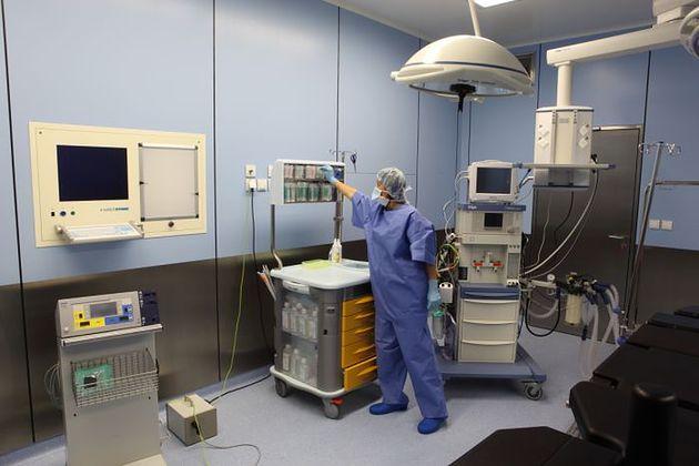 Sala operacyjna w Szpitalu Medicover