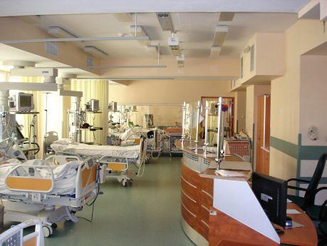 Jedna z sal dla pacjentów w Szpitalu Międzyleskim w Warszawie