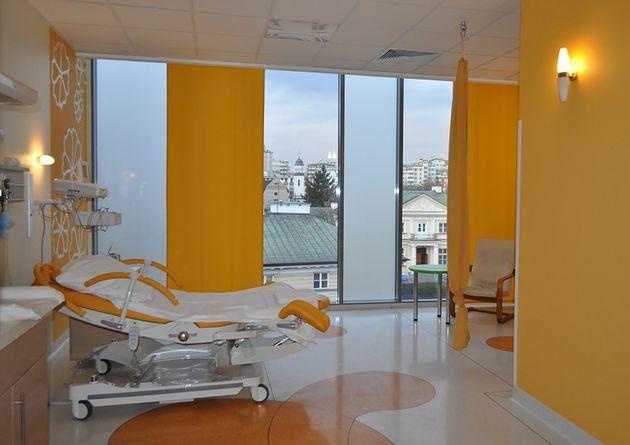 Sala Pomarańczowa w Szpitalu św. Zofii w Warszawie