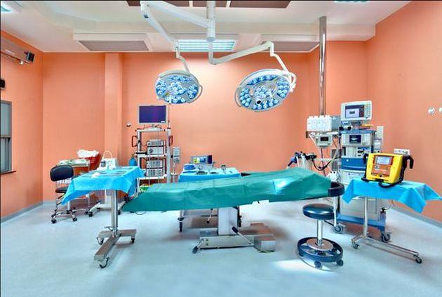 Sala operacyjna w Poliklinice Ginekologiczno-Położniczej Arciszewscy