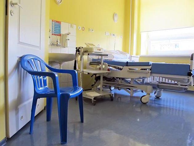 EKG w sali Szpitala na Solcu