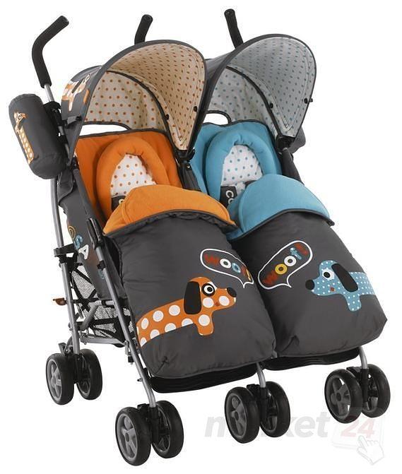 Wózek Cosatto You2 Twin Polka Dogs