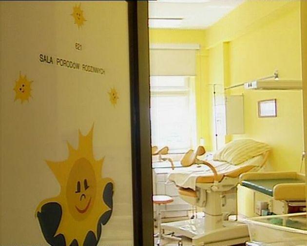 Jedna z sal porodowych w Szpitalu na Brochowie we Wrocławiu