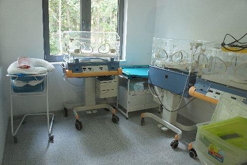 Sala noworodków w Niepublicznym Zakładzie Opieki Zdrowotnej Malarkiewicz