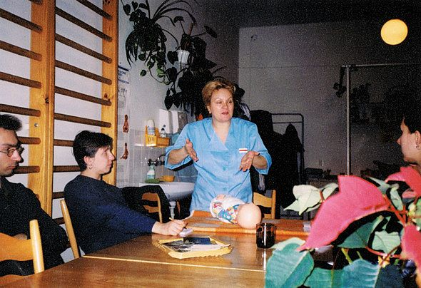 Zajęcia edukacyjne w Szkole Rodzenia Ewa Kusiak we Wrocławiu