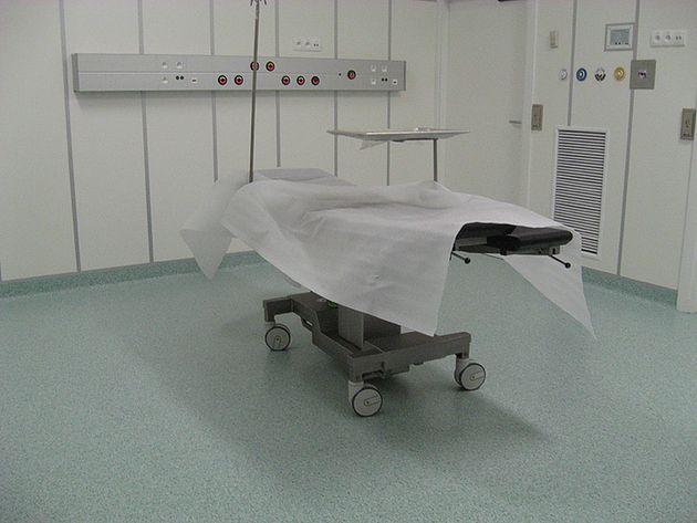 Jedna z sal w Szpitalu Wojewódzkim im. Świętego Łukasza w Tarnowie