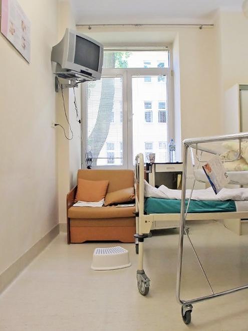 Sala pobytowa Szpitala Bielańskiego w Warszawie