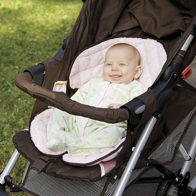 Wkładka do wózka Sunshine Kids Soft Ride Pink/Brown 30185