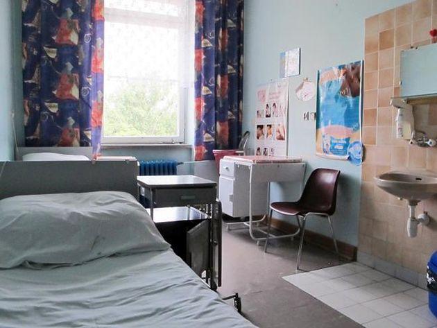 Sala na Oddziale Położniczym Szpitala w Międzylesiu
