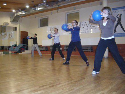 szkolenie z wykorzystaniem easy ball