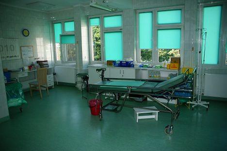 Sala w Oddziale Ginekologiczno-Położniczym w Szpitalu Miejskim im. Jana Pawła II w Rzeszowie