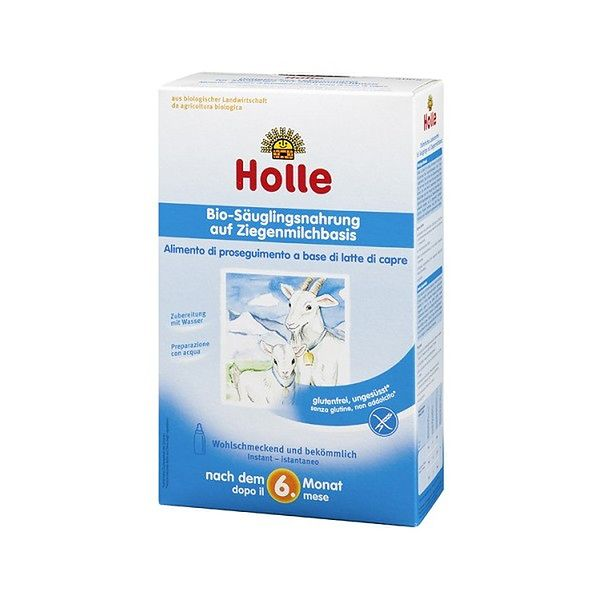 Mleko kozie bio od 12. miesiąca Holle (400 g)