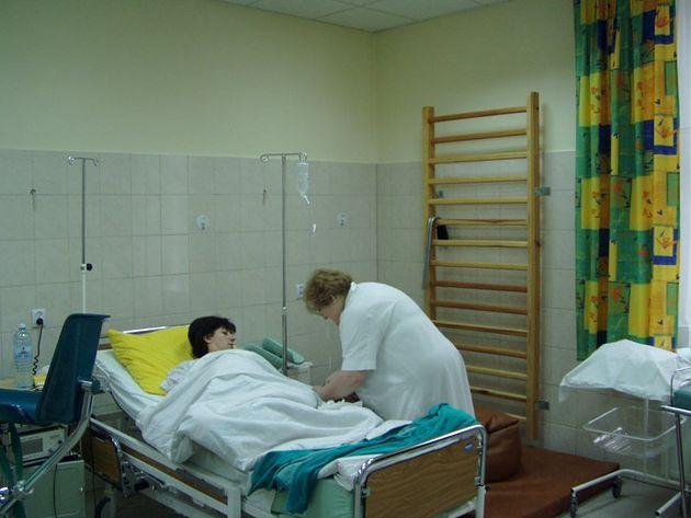 Sala porodowa w Szpitalu im. Stanisława Leszczyńskiego w Katowicach