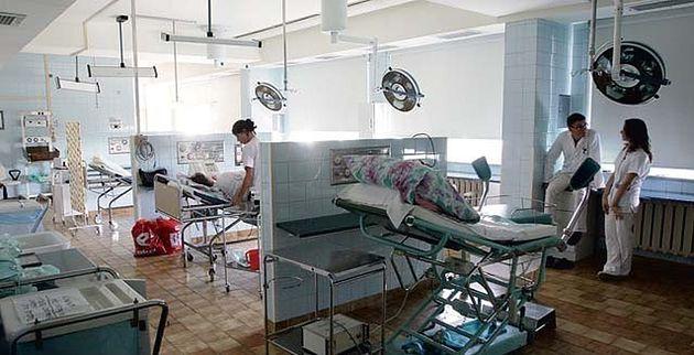 Sala porodowa w Szpitalu na Brochowie we Wrocławiu