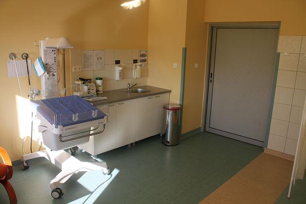 Sala porodowa w Samodzielnym Publicznym Centralnym Szpitalu Klinicznym im. prof. Kornela Gibińskiego w Katowicach