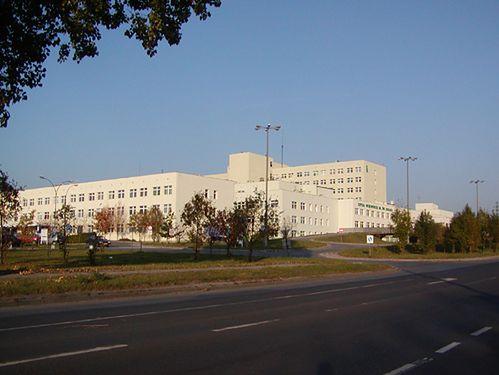 Szpital Wojewódzki im. Świętego Łukasza w Tarnowie - widok z oddali