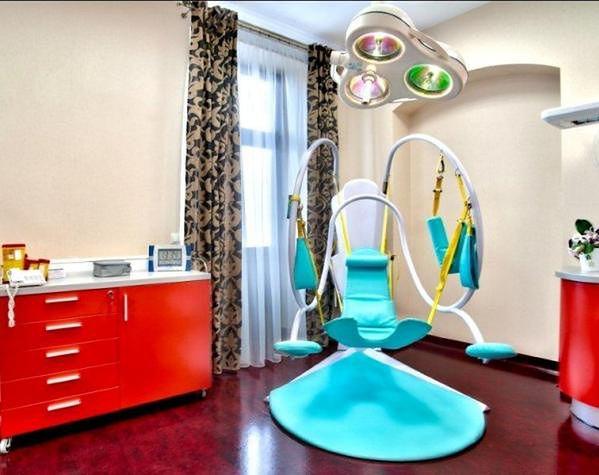 Fotel ginekologiczny w Poliklinice Ginekologiczno-Położniczej Arciszewscy
