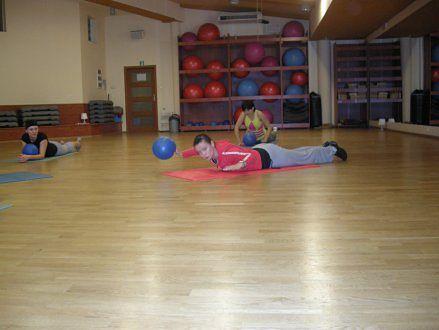 zajęcia z wykorzystaniem easy ball