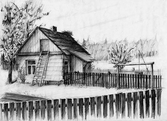 chata - rysunek