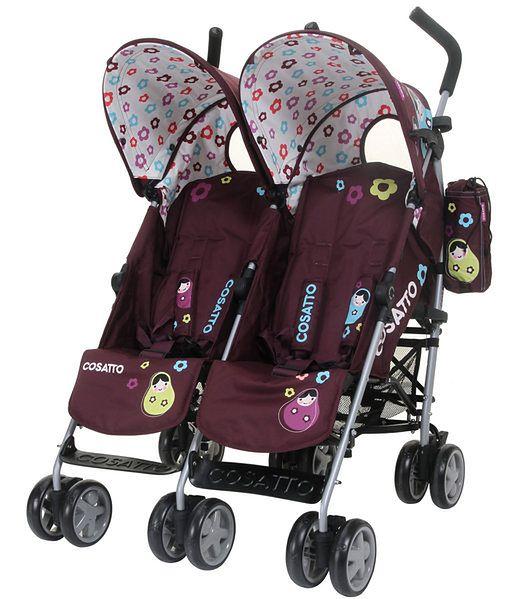 Wózek dla bliźniąt Cosatto You2 Twin Hello Dolly