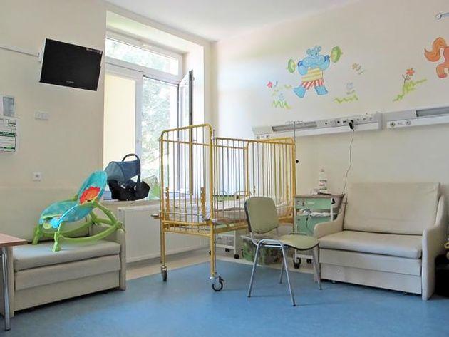 Sala w Szpitalu Bielańskim