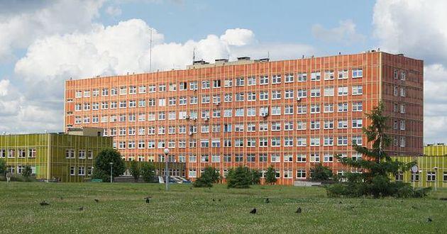 Samodzielny Publiczny Szpital Wojewódzki w Gorzowie Wielkopolskim - widok z oddali
