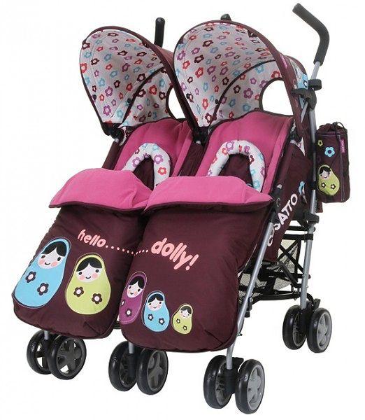 Wózek podwójny Cosatto You2 Twin Hello Dolly