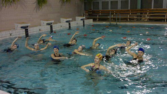 kurs z ćwiczeń wodnych