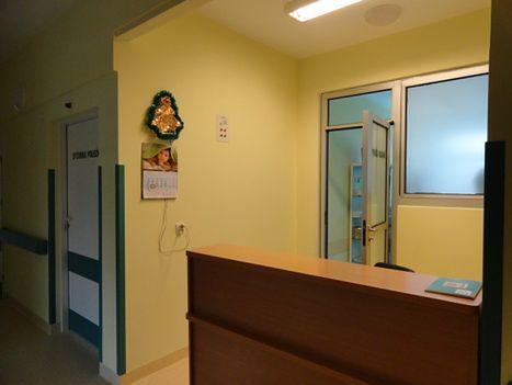 Dyżurka położnych na Oddziale Neonatologicznym w Szpitalu Miejskim im. Jana Pawła II w Rzeszowie