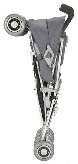 Złożony wózek Maclaren Twin Techno Charcoal