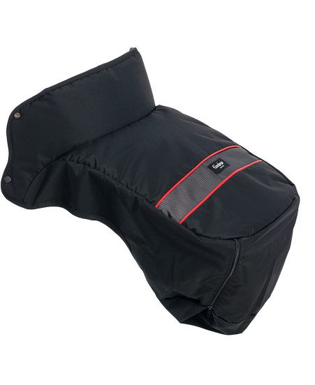 Ocieplacz na nóżki Emaljunga Exclusive PP Black/Red