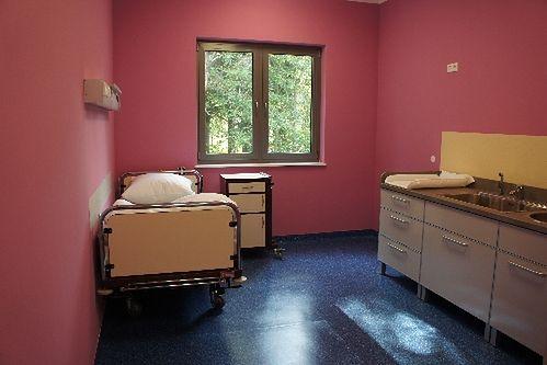 Sala położniacza w Niepublicznym Zakładzie Opieki Zdrowotnej Malarkiewicz