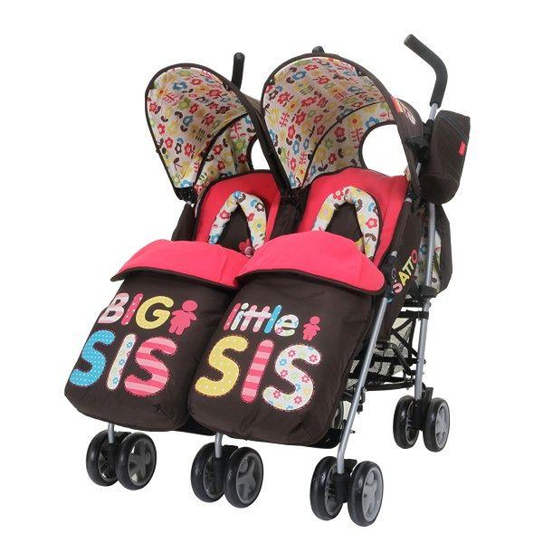 Wózek Cosatto You2 Twin Big Sis-Little Sis