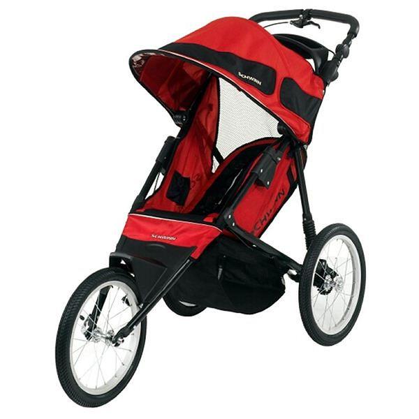 Wózek Schwinn Free Runner LT czerwono-czarny