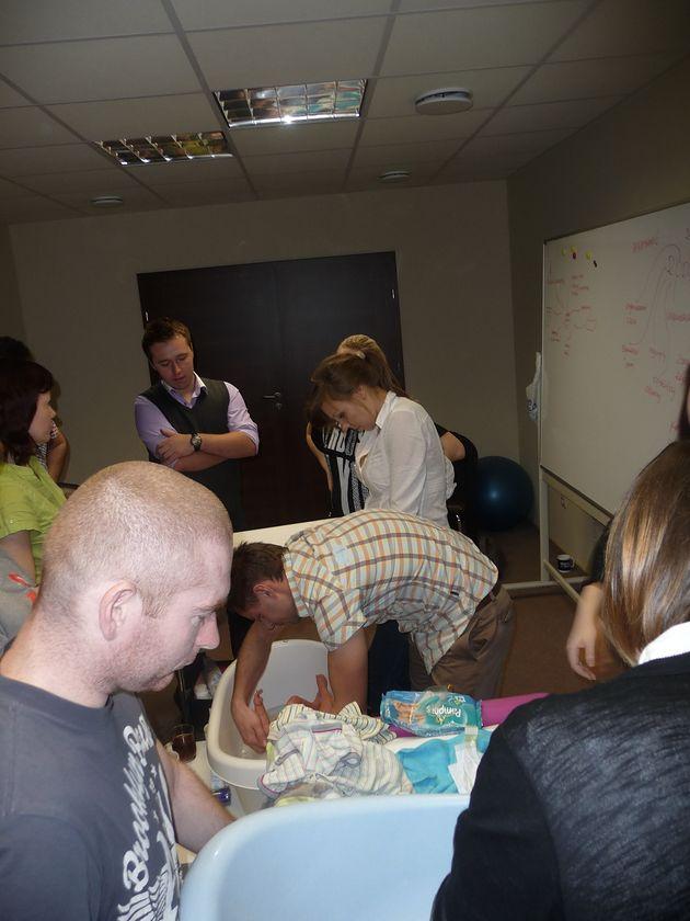 Coachingowa Szkoła Rodzenia MIŚ KULECZKA - pielęgnacja niemowlaka