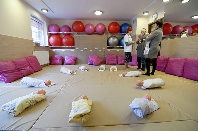Zajęcia Szkoły Rodzenia przy Medycznym Centrum Rodzinnym we Wrocławiu