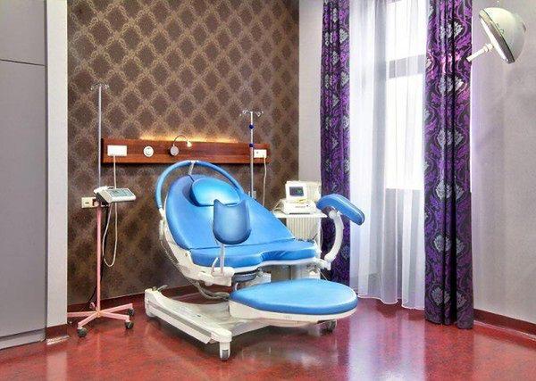 Fotel w Poliklinice Ginekologiczno-Położniczej Arciszewscy