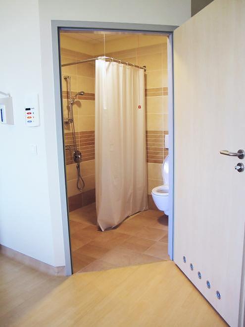 Łazienka w prywatnym Szpitalu Medicover