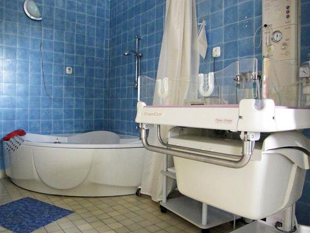 Szpital Międzyleski - sala do porodów